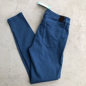 •new• Level 99 Cobalt Primrose Skinny Stretch Jean